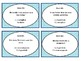 Figurative Language Task Cards (12 pk, blank cards, answer sheet included)