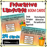Figurative Language Task Cards: BOOM Cards for Distance Le