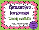 Figurative Language Task Cards - CCSS Aligned