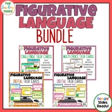 Figurative Language Task Cards PLUS Digital Task Cards BUNDLE