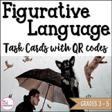 Figurative Language Task Cards with QR Codes Common Core A