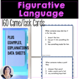 Figurative Language Task Cards for Idioms Similes Metaphors