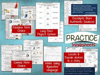 FIGURATIVE LANGUAGE: TEACH, PRACTICE, TEST