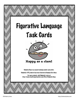 Figurative Language Teach and Reach Bundle