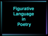 Figurative Language Terms in Poetry Power Point Presentation