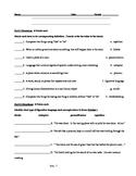 Figurative Language Assessment (Test)