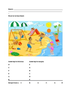 Figurative Language Test - 4th Grade