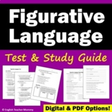 Figurative Language Test (With Study Guide)