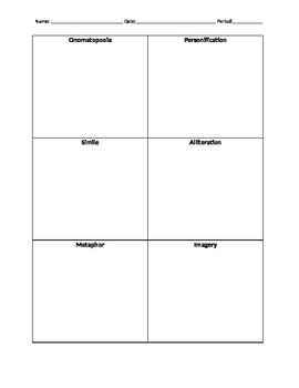 Figurative Language Tiles