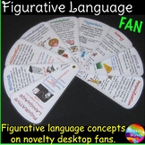 Figurative Language Reference Fan for Writing