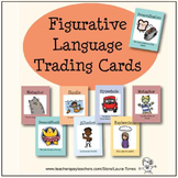 Figurative Language Trading Cards