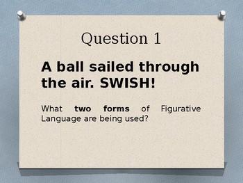 Figurative Language Trashketball