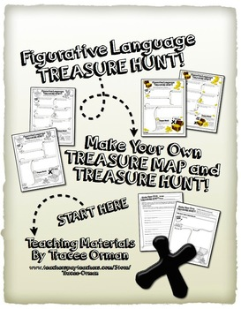 Figurative Language Treasure Hunt - Use With ANY Text