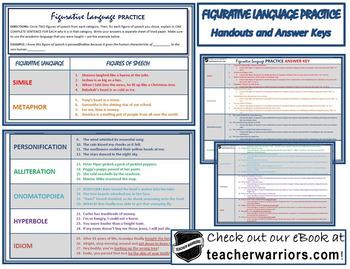 Figurative Language UNIT - 11 PAGES
