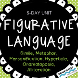 Figurative Language Unit:  6 Types of Figurative Language Worksheets and Lessons
