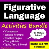Figurative Language Activity Bundle - Save 20%!