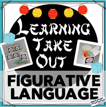 Learning Take Out Task Cards:  5 Types of Figurative Language