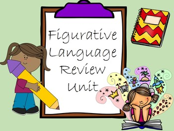 Figurative Language Unit Review