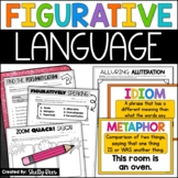 Figurative Language: Simile, Metaphor, Alliteration, Personification, More!