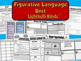 Figurative Language Unit from Lightbulb Minds