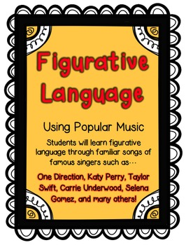 Figurative Language Using Popular Music