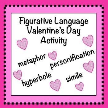 Figurative Language: Valentine's Day Activity