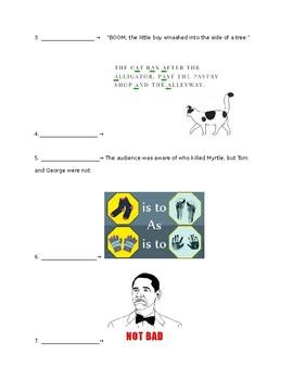 Figurative Language/Vocab Quiz