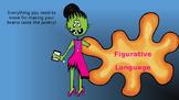Figurative Language Vocabulary Powerpoint Zombie Style