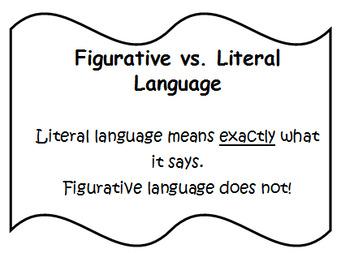 Figurative Language Vocabulary RL 3.4