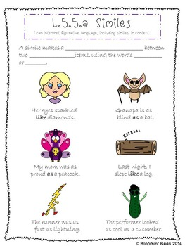 Figurative Language, Word Relationships, & Nuances in Word Meanings