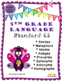 Figurative Language, Word Relationships, & Nuances in Word