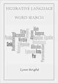 Figurative Language Word Search Definition Activity and Follow-Up Homework Task