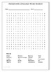 Figurative Language Word Search Definition Activity and Fo