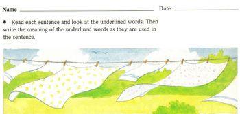 Figurative Language Worksheet Understand Similes Metaphors Idioms Personificatio