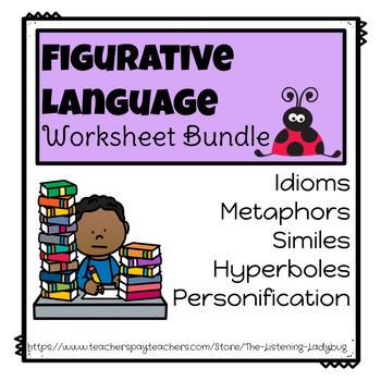 Figurative Language Worksheets-Bundle