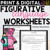 Figurative Language Worksheets : Idioms, Similes, Metaphor