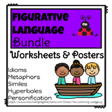 Figurative Language: Worksheets and Posters Bundle
