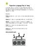 Figurative Language- Write an Original Rap or Song Using Rhyme Scheme
