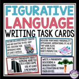 FIGURATIVE LANGUAGE WRITING TASK CARDS