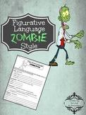 Figurative Language Zombie Style