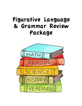Figurative Language and Grammar Review Package