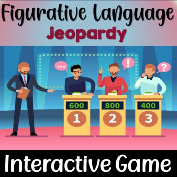 Figurative Language and Poetic Devices Jeopardy Game