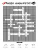 Figurative Language and Poetry Crossword Puzzle