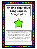 Figurative Language and Poetry Elements in Song Lyrics