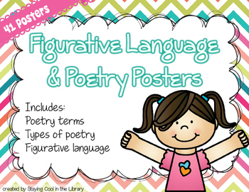 Figurative Language and Poetry Posters