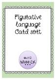 Figurative Language card sort