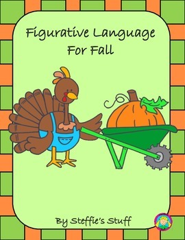 Figurative Language Fall: Similes, Onomatopoeias, Personifications, and more