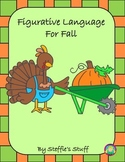 Figurative Language Fall: Similes, Onomatopoeias, Personif