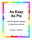 Figurative Language - As Easy As Pie
