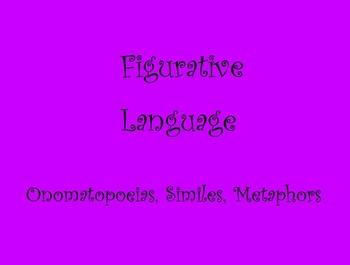Figurative Language for Mimio